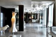 MAISON MOSCHINO / MILÁN, ITALIA El lobby del hotel de Moschino.