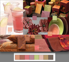 La paleta Extracts usa colores atractivos, cálidos y llenos de sabor, pero en tonos mas claros y elegantes. Esta combinación de colores nos recuerda a las frutas tradicionales y a las exóticas. Usa estos tonos en ambientes sociables, como la sala, cocina o comedor.