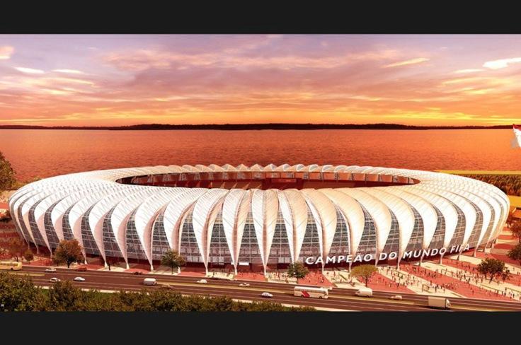 Beira-Rio (Internacional, 2014) – 65.000 espectadores.