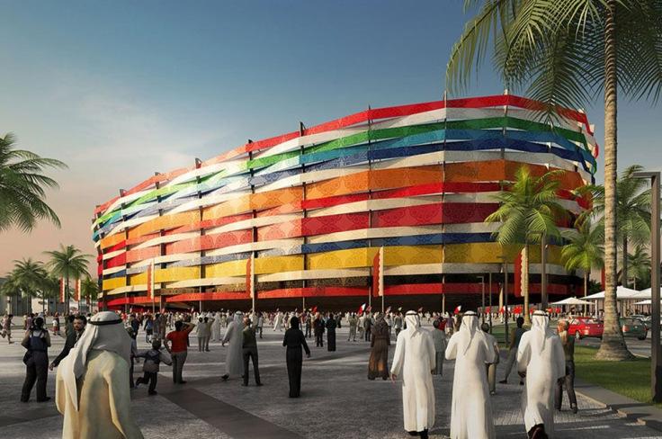 Ampliación del Al-Gharafa (Al-Gharafa, 2022) – 44.740 espectadores.
