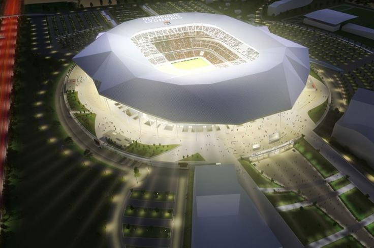 Grand Stade (Olympique de Lyon, 2013) – 58.328 espectadores.