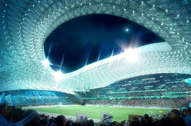 Velodrome (Olympique de Marsella, 2014) – 67.000 espectadores.