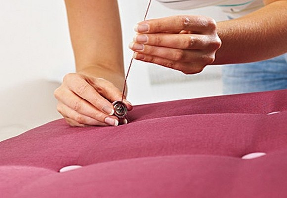Bricolage c mo hacer un cabecero tapizado para la cama decoraci n dise o inspiraci n - Como se hace un cabecero tapizado ...