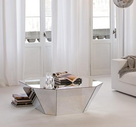 Muebles de espejo decoraci n dise o inspiraci n for Espejos de diseno para salon
