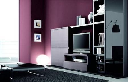 Decorar el living con muebles oscuros decoraci n dise o for Color salon muebles oscuros