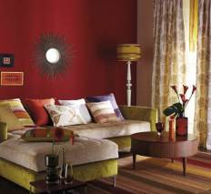 El color burdeos en la decoración