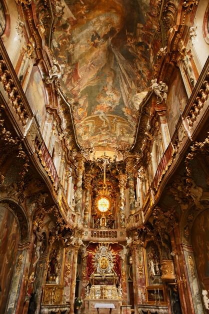 glesia de Saint Johann Nepomuk, Múnich (Alemania)