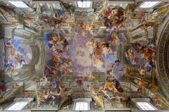 Iglesia de San Ignacio de Loyola, Roma (Italia)
