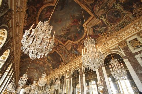Galería de los Espejos, Versalles (Francia)