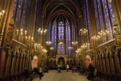 La Sainte Chapelle, París (Francia)