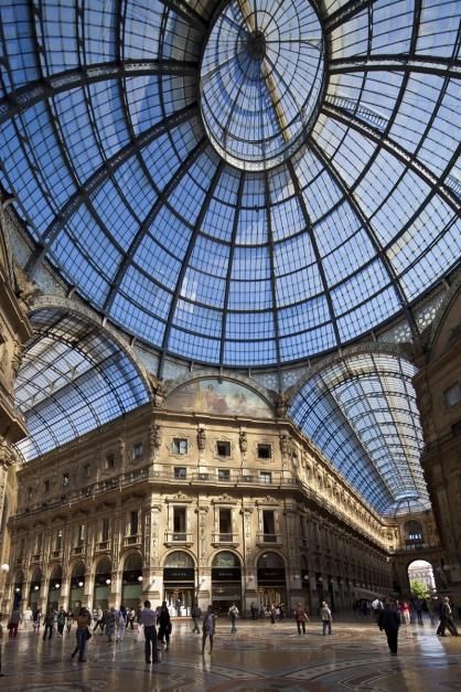 Galleria Vittorio Emanuele II, Milán (Italia)