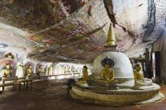 Templo de oro, Dambulla (Sri Lanka)
