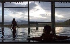 El hotel cuenta también con un spa...