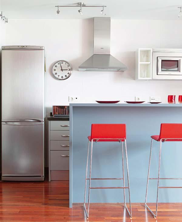 Barras en la cocina ampliaci n y distribuci n for Tabla de la barra de la cocina de separacion
