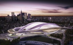 The centrepiece of the Tokyo 2020