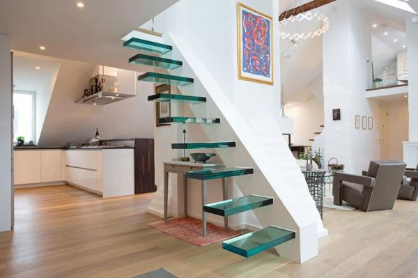 Un loft amplio, luminoso y de diseño contemporaneo
