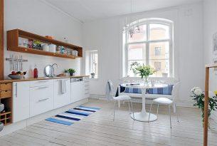 Inspiración: Cómo ambientar una vivienda sin divisiones