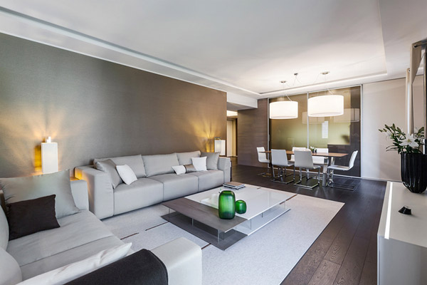 """Mar, arena y piedra son el """"leitmotiv"""" de esta casa en Mónaco"""