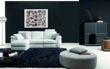 black and white living room furniture ideas