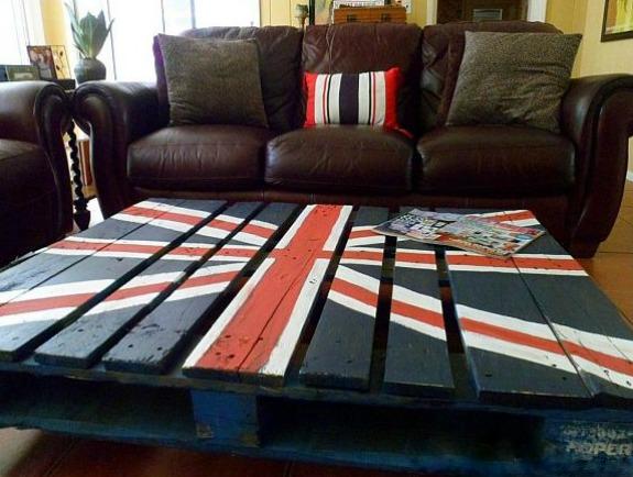 Reciclaje c mo hacer una mesa con palets decoraci n - Como hacer una mesa con palets ...