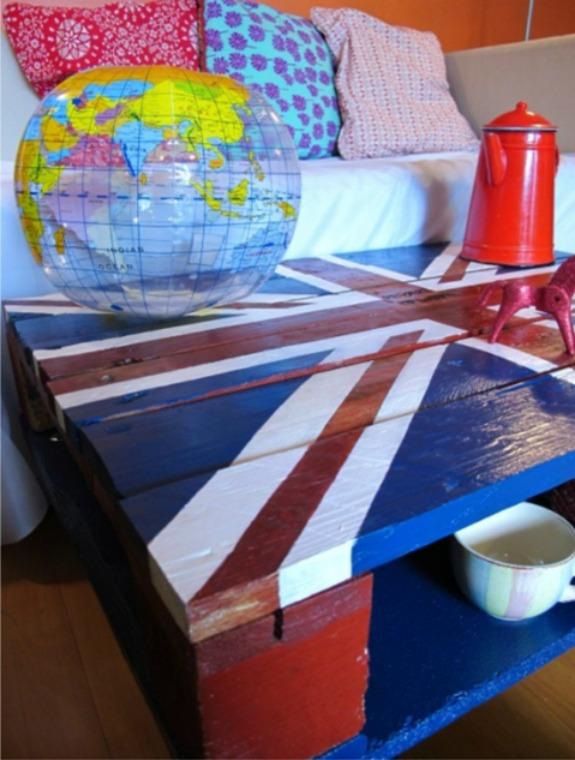 Reciclaje: Cómo hacer una mesa con palets