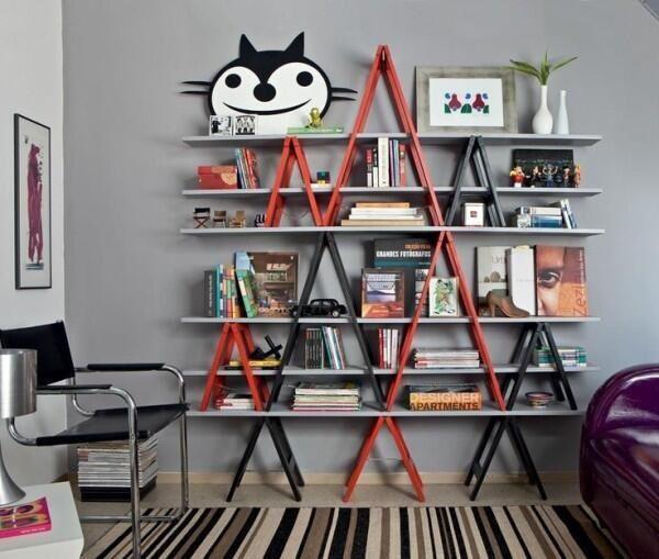 Las más originales, simpáticas y divertidas estanterías.