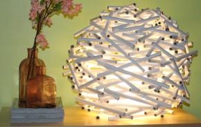 Cómo hacer una lámpara de papel_2