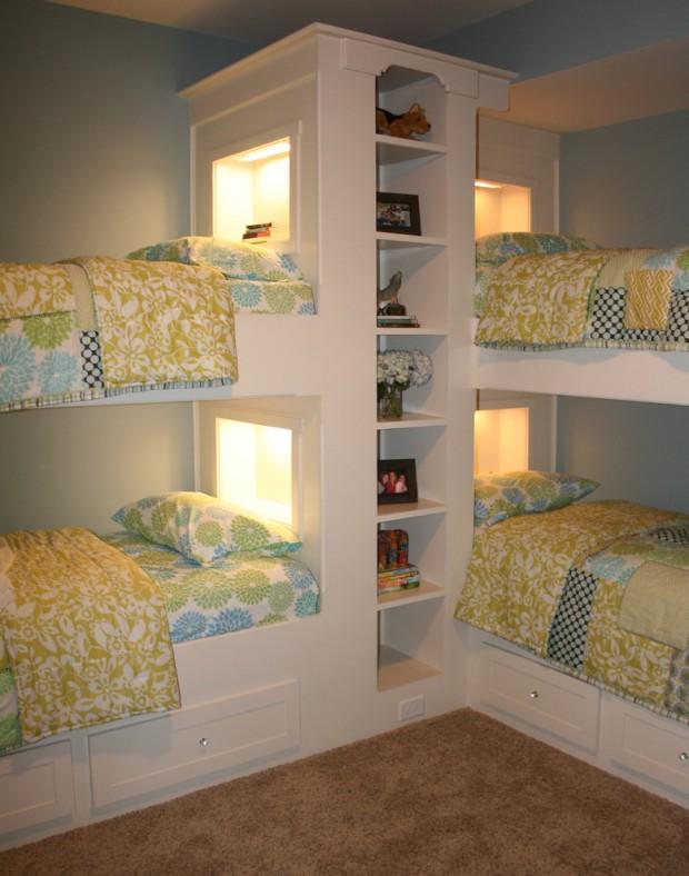 Dormitorios infantiles con mucha magia