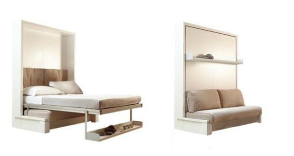 Duplica el espacio con muebles de doble uso