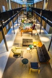 Un nuevo hotel de diseño en un antiguo depósito de tranvías
