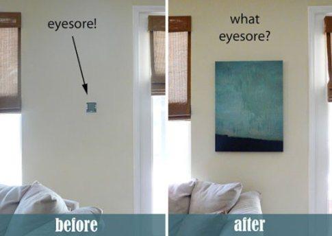 20 Ideas para camuflar esos objetos antiestéticos en nuestros hogares