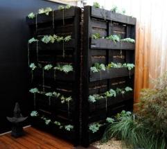 Como jardinera y divisor de espacios