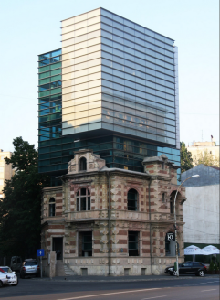 29. National Architects Union Headquarters (Rumania)