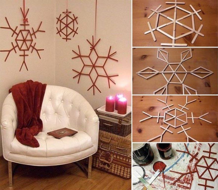 36 ideas para hacer adornos navideos fciles y baratos Decoracin