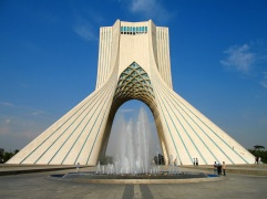 52. Azadi Tower (Tehran, Iran)