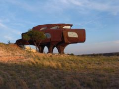 59. Ransom Canyon Steel House (Lubbock, Texas)