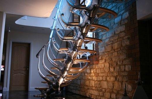 22 Impresionantes escaleras a las que te dará gusto subir