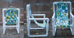 22 ideas sencillas y divertidas para muebles de exterior