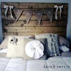 Muebles: 40 ideas originales para hacer cabeceros de camas