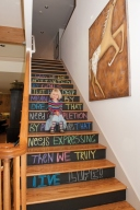 Ideas fascinantes para decorar la escalera