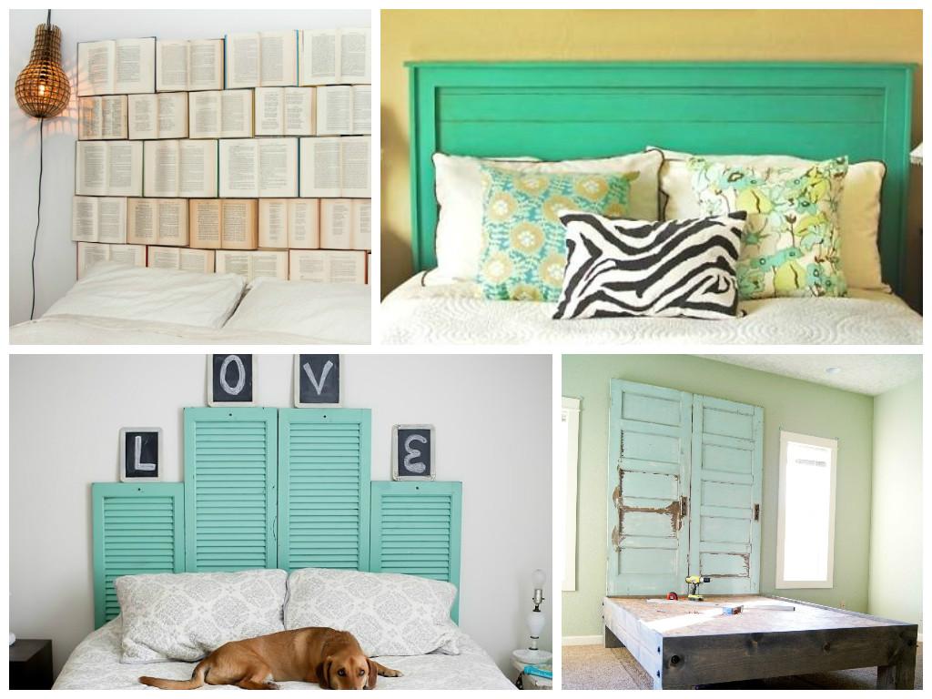 muebles ideas originales para hacer cabeceros de camas