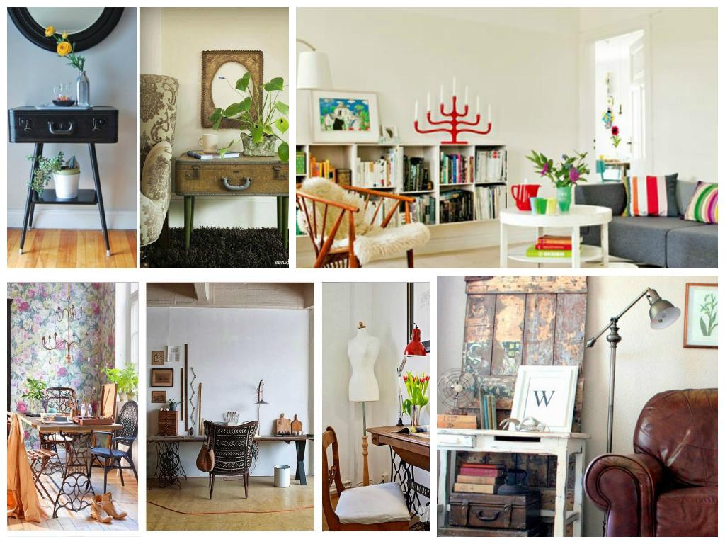 Tendencias c mo lucir y aprovechar muebles vintage - Escuela decoracion de interiores ...
