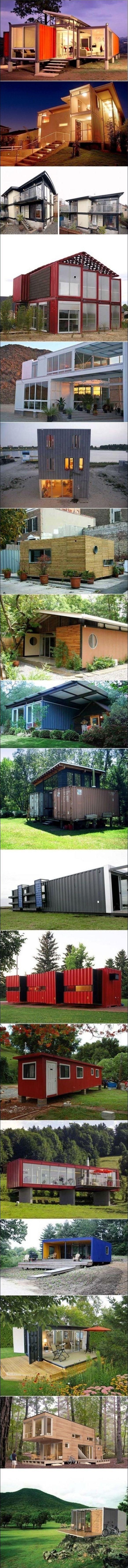 Casas de verano hechas a partir de containers