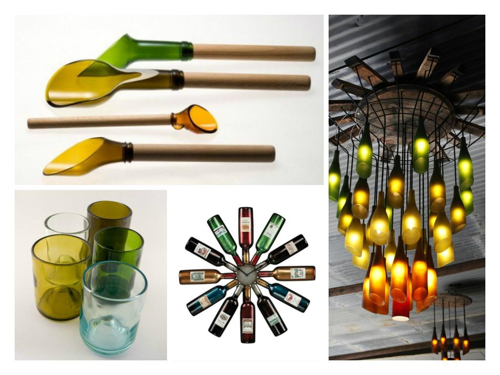22 ideas para reutilizar botellas de vidrio