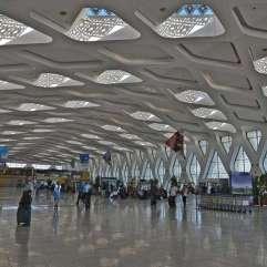 Aeropuerto de Marrakech-Menara.