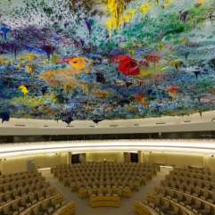 Cámara de los Derechos Humanos y de la Alianza de Civilizaciones de la ONU en Suiza.
