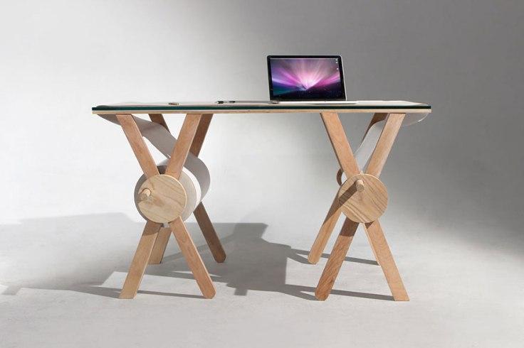 Un escritorio que no necesita de block de notas