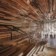 Nishi Grand Stair Interior, Australia.