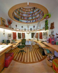 Bibliotecas en el techo