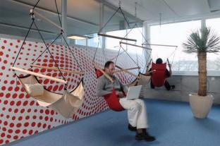 Google ¿Esperabas una descripción de le empresa? Sólo te puedo decir que sus oficinas son de las mejores en el mundo.